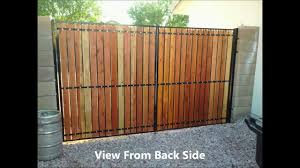 100 Building A Garden Gate From Wood Side Yard Refurbish 01082014