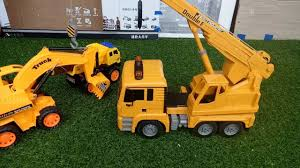 RC Crane Truck Unboxing Toys For Kids | Construction Truck Crane ...