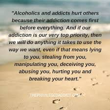 Why Alcoholics Hurt People