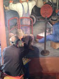 Coit Tower Murals Tour by City Visions Coit Tower Restored Kalw