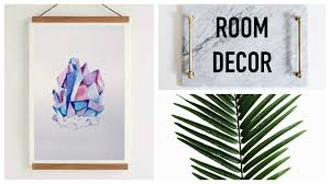DIY Minimalist Room Decor
