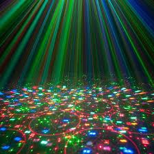 American DJ Stinger 3 In 1 Moonflower Strobe & Laser Lighting