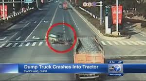 VIDEO: Dump Truck Hits Tractor | Abc7chicago.com 2019 New Western Star 4700sf Dump Truck Video Walk Around Truck Crashes To Avoid Hitting Teen Driver Wkef Ming Dump Working Unloading In The Sand Quarry Stock Video Hits Tractor Abc7chicagocom Cstruction With Chroma Key Background Plate Proplates Car Wash Educational Video For Kids Youtube Excavators Work Under River Videos Car 2015 Mercedesbenz Sprinter 3500 Everything The Diadon Enterprises Golden Gate Bridge Ipections Report And Collide Sarasota Sending One