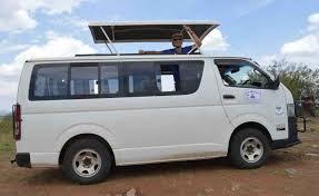 9 Seater Mini Van Hire In Nairobi Kenya ,safari Van
