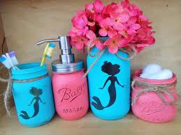 luxurious and splendid little mermaid bathroom set design of