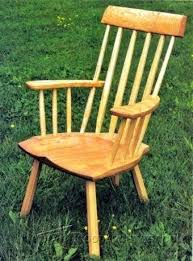 Windsor Rocking Chair Plans O Rustic A