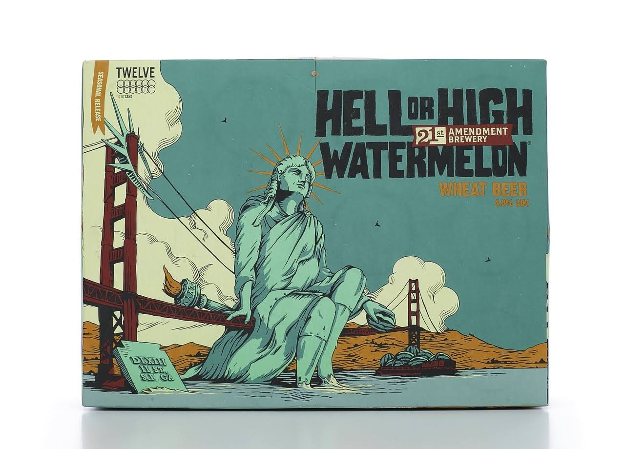 Hell or High Watermelon Seasonal Can