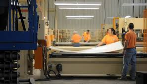 Inside One Of The Ashley Furniture Manufacturing Facilities