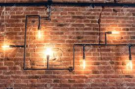 interior design of vintage wall rustic design brick wall with
