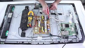 samsung lcd tv repair tv won t turn on how to replace power