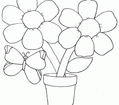 Colouring Templates Flowers Pages Kids Coloring Europe Travel Guides