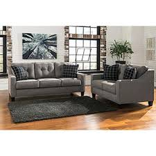 Makonnen Charcoal Sofa Loveseat by Rent To Own Sofas Recliners Tables U0026 Lamps Rent A Center