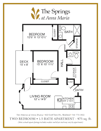 Bathroom Floor Plans With Washer And Dryer by Assisted Senior Living In Medford Or The Springs At Anna Maria