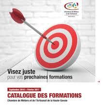 chambre des metiers 74 catalogue des formations de la cma 74 de septembre 2016 à février