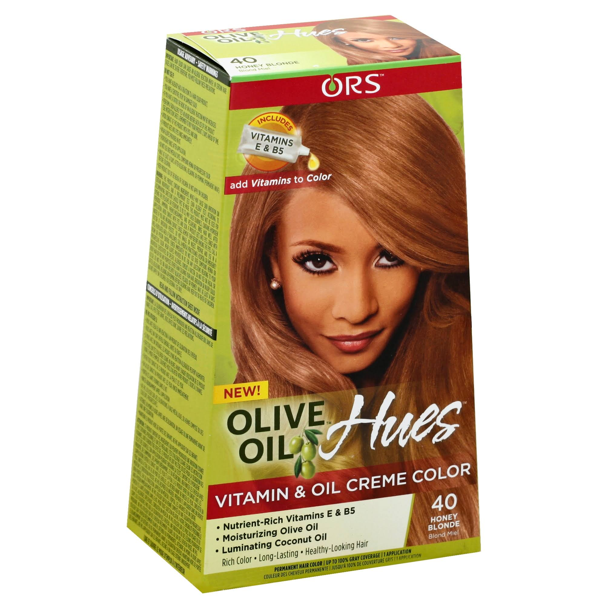 Ors Olive Oil Hues Vitamin & Oil Creme Color - 40 Honey Blonde