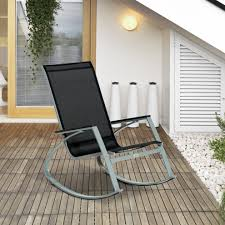 Outsunny Rocking Metal Chair Outdoor Patio Texteline Sun Lounger On ... Trex Outdoor Fniture Yacht Club Classic White 3piece Patio Rocker Hampton Bay Spring Haven Brown Allweather Wicker Outsunny Porch Rocking Chair Wooden Shop Patiopost Glider Pe Metal Texteline Sun Lounger On 40 Inoutdoor Dark Slat Deck Garden Mocha With Beige Wellington High Back Reviews Joss Main Polywood Jefferson Black Rockerj147bl The Home Depot 3pc Set Coffee Table Bistro