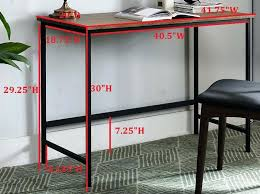 metal puter desk – interque
