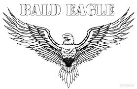 American Eagle Day Coloring Pages