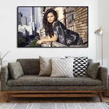 selena gomez poster hd tapete schönheit sänger drucke fans schlafzimmer wohnzimmer leinwand malerei wand kunst bilder wohnkultur