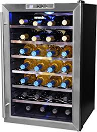 Tresanti Wine Cabinet Zinfandel by Amazon Com Madison Thermoelectric Wine Coolers In Rose Cherry