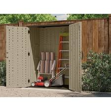 Suncast 7 X 7 Alpine Shed by Suncast Storage Shed Vertical Reinforced Floor 54 Cu Ft