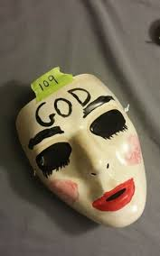 Purge Anarchy Mask For Halloween by The Purge Anarchy God Mask Great For Halloween On The Hunt