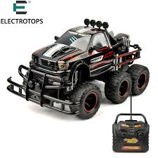 ET RC Vehicles Hobby 6 WHEEL 1/10 Scale 27MHZ RTR Brushed Monster ...