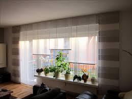 ideen fenstergestaltung wohnzimmer