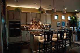 increase your kitchen decoration with using recessed lighting