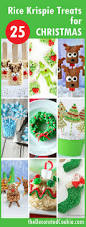 Rice Krispie Christmas Tree Treat Recipe by 25 Christmas Rice Krispie Treats The Decorated Cookie