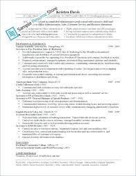 Resume Job Summary Examples For Resumes Furniture Sales Associate Office Admin Description Sample