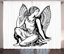 gardinenschals junge engel abakuhaus sternzeichen