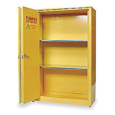 Justrite Flammable Cabinet 45 Gallon by Eagle Flammable Safety Cabinet 45 Gal Yellow 3w313 1945 Grainger
