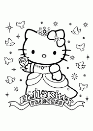 Source Kingofwallpapers Hello Kitty Mermaid Coloring Pages To Download And Print For Free Within