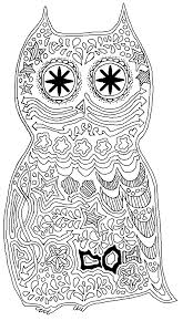 Enchanting Really Hard Coloring Pages Unique Adult Printable Owl8a837d