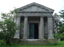 100 Sleepy Hollow House Heber R Bishop Family Mausoleum Cemetary
