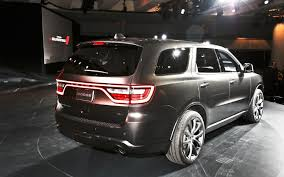 Dodge Durango Captains Chairs by 2014 Dodge Durango First Look Motor Trend