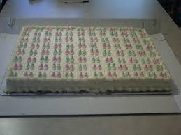 Baby Shower Cake – Full Sheet