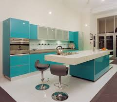 Yellow Kitchen Decor Colors Of Nature Modern Interiors With A Splash Turquoise And Aqua Exoticness