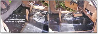 jeep cherokee floor repair