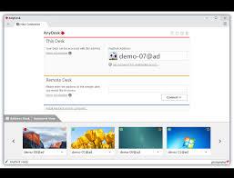l application de bureau à distance rapide anydesk