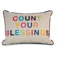 Decorative Couch Pillows Walmart by 9 By Novogratz Count Your Blessings Decorative Pillow Bright