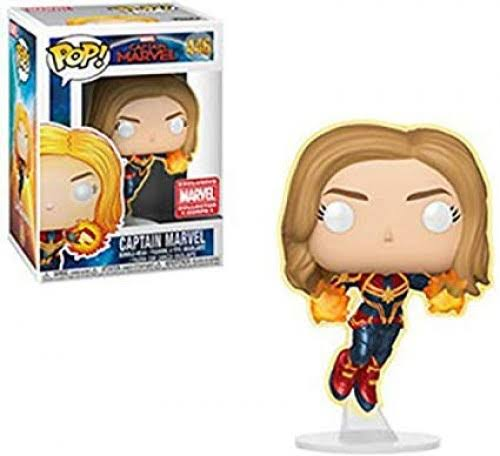 Funko Pop! Marvel Captain Marvel Vinyl Bobble Head [Glow-in-the-Dark]
