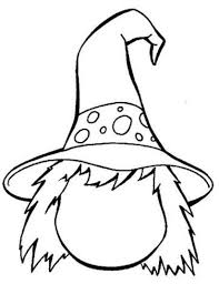 Halloween Witches Coloring Pages 17 3 Page Black White