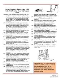 POWERED INDUSTRIAL TRUCK SAFETY PROGRAM Forklift Top 6 Common Osha Compliance Pitfalls For Powered Sample Generic Checklist Industrial Trucks Youtube Gensafetysvicespoweredindustrialtruck The Safety Drumbeat Ignored As Often Its Heard University Operator Traing Osha Forklift Fact Sheet Elegant Etool Associated Regulations Required Power Truck Features Continue To Evolve Ehs Pit Pp T