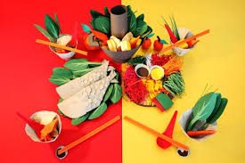 A Creative Do It Your Self Craft Made Of Paper This Picture Is Not Meal With Lot Vegetables In Different Color That Represent The Chinese Design