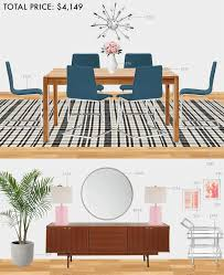 Budget Dining Room Modern Eclectic