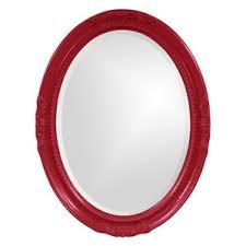 Wayfair Oval Bathroom Mirrors by Red Mirrors You U0027ll Love Wayfair