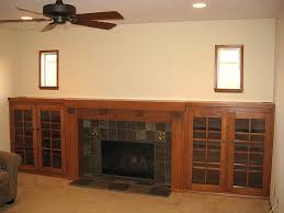 Batchelder Tile Fireplace Surround by Craftsman Style Fireplace Mantels Custom Arts And Crafts