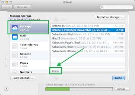 2 Free and Easy ways to delete iPhone Backups drne